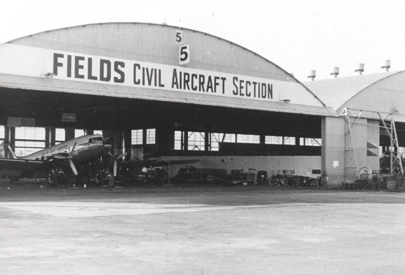 11991 ZS-DIW Fields Air Service Section Hangar 5 Rand Karel Zaayman