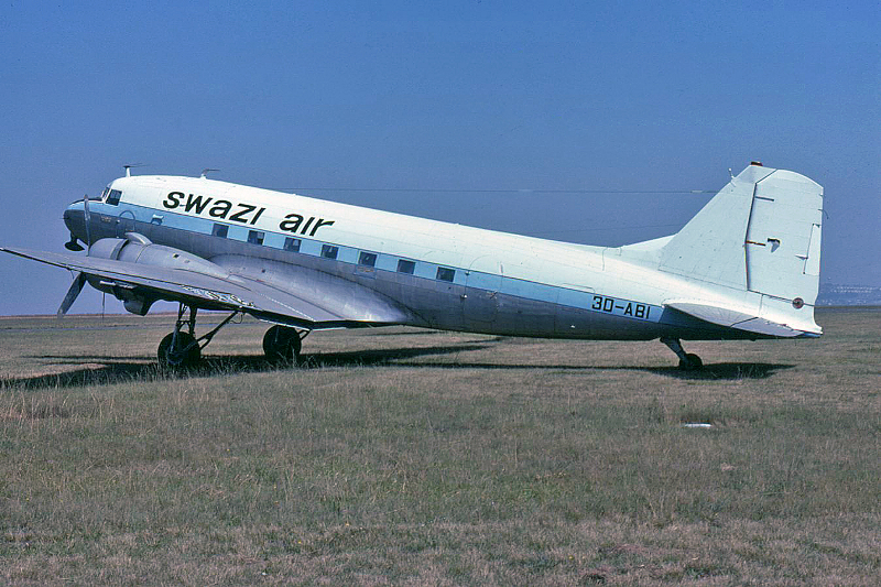 42978 3D-ABI Swazi Air Clinton Groves