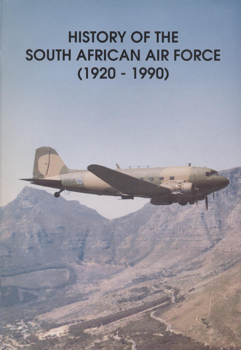 Book History of the South African Air Force 1920 - 1990