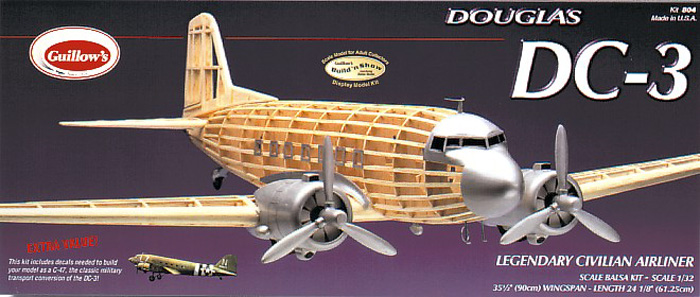 Model Guillow's 804 wood kit 32 scale