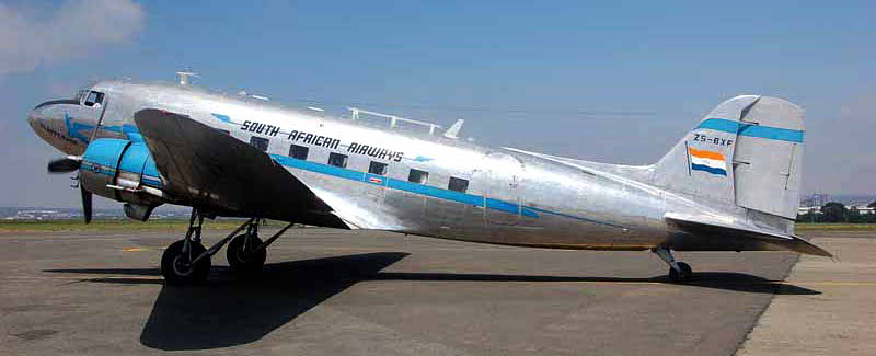 Skyclass DC-3 flight to Parys 2016 -01A
