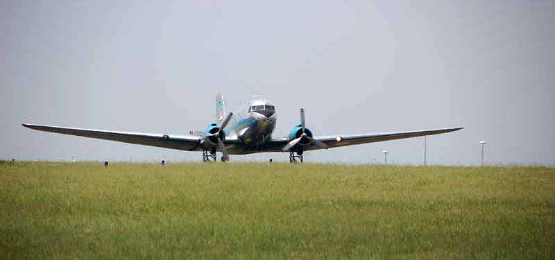 Skyclass DC-3 flight to Parys 2016 -02A