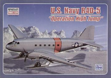 Minicraft 14527 Douglas R4D-5 US Navy Operation High Jump 144 scale